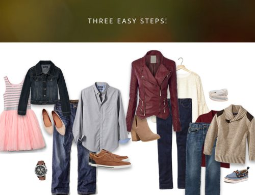 What to Wear for Fall Family Portraits