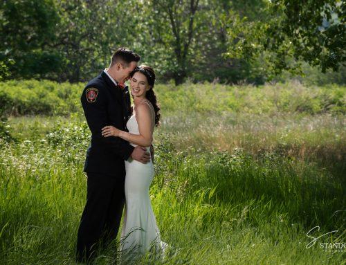 Joel & Erin ~ Readymade Community Centre- Coaldale Wedding Photographer