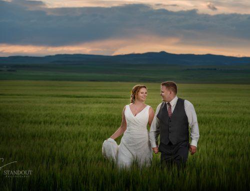 Evan and Stefanie~ Heritage Acres Museum-Pincher Creek Wedding Photographer